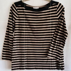 Club Monaco Stripe blouse size M